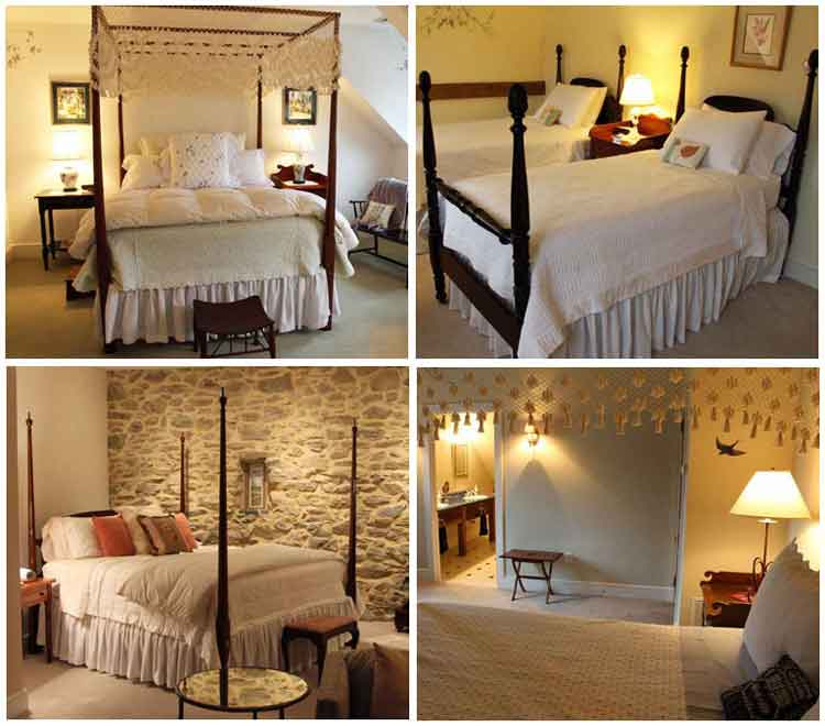 Lancaster PA Bed and Breakfast bedrooms